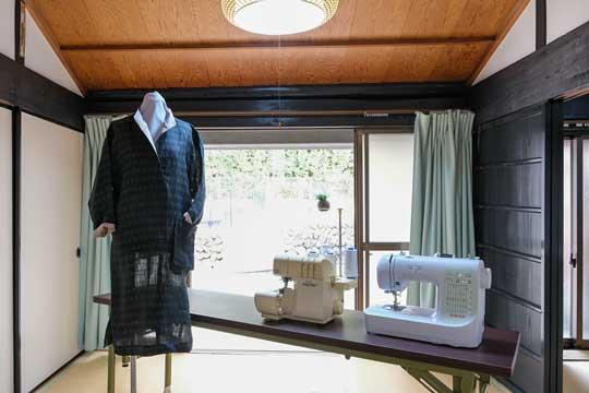 着物や帯でかばん作り教室